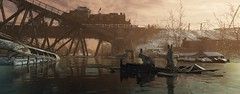 ''Together'' (HodgeDogs) Tags: metroexodus 4agames 4aengine nvidia animal water train forest trees