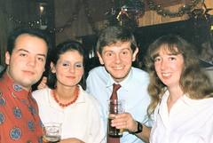 98_NewYearsEve1987 (wrightfamilyarchive) Tags: new years eve 1987 1980s 80s eighties neil batstone debbie paul linda
