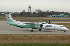 LN-RDZ Bombardier DHC-8Q-402 Wideroe Stansted 18th February 2019 (michael_hibbins) Tags: lnrdz bombardier dhc8q402 wideroe stansted 18th february 2019 aeroplane aerospace aircraft aviation airplane air aero airfields airport airports civil commercial plane planes airliner airline ln norway norrwegian europe european