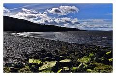 On the rocks! (john.methven) Tags: water river tay shore beach ballerina fife dundee