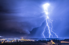 Nicosia (Smistrellides) Tags: cyprus nicosia limassol paphos larnaca lefkosia thunderstorm storm supercell strike lightning stefanos mistrellides canon nature weather clouds cloud bolt eos 80d