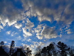 Clouds. (dccradio) Tags: lumberton nc northcarolina robesoncounty nature natural outdoor outdoors outside sony cybershot dscw830 march monday evening goodevening mondayevening spring springtime sky eveningsky bluesky tree trees branch branches treebranch treebranches treelimb treelimbs cloud clouds cloudformation