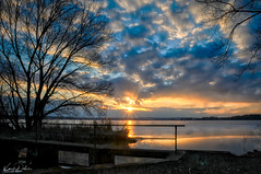 sunset in the southern bohemia (kadofr) Tags: south bohemia czech trebon pond sunset