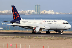 OO-TCH_01 (GH@BHD) Tags: ootch airbus a320 a320200 a320214 sn bel brusselsairlines ace gcrr arrecifeairport arrecife lanzarote aircraft aviation airliner