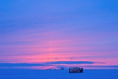 1902_3630 Winter Afterglow (wild prairie man) Tags: landscape winter sunset afterglow pink blue shed prairie beautiful vast nearvalmarie beavervalley saskatchewan canada copyrighted jamesrpage explored