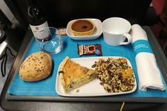 London 2018 – Dinner on the Eurostar (Michiel2005) Tags: food eten eurostar england engeland grootbrittannië greatbritain britain uk vk unitedkingdom verenigdkoninkrijk london londen
