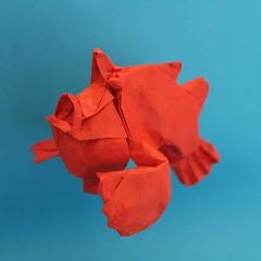 Frogfish (Anicé Claudéon) Tags: origami april fool frogfish fish pliage