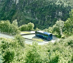 Stalheim, Norway, Scandinavia (susiefleckney) Tags: stalheim norway scandinavia stalheimskleivi oldroad hairpinbends