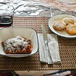 Homemade Zucchini Lasagna With Honey Nut Squash Tomato Sauce & Polenta Romano thumbnail