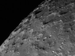 Clavius luna crater (kenthelleland) Tags: luna moon crater craters astrophotography universe solarsystem planetary planet satelite ourmoon telescope space bw norway