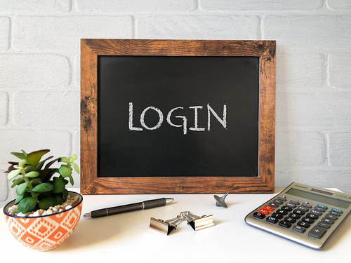 Login by Got Credit, on Flickr