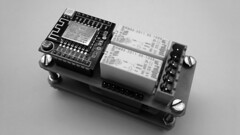 2016-12-12 - Distribution Controller - A0001 r1 bw (di_ee_foto) Tags: printed circuit board distribution controller arduino esp8266 wifi