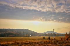 Dalarna morning (Klas-Herman Lundgren) Tags: dalarna sweden gimmen autumn höst oktober october sunrise fields fält morgon sifferbo se