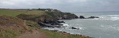 Lizard Point (Geoff Buck) Tags: cornwall lizard swcoastpath coastpath beach cliff sea waves rocks sand