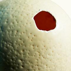 Hole in my soul (Le.Patou) Tags: challenge macromondays hole macro closeup fz1000 egg ostrich white trou patouplaylist