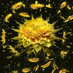 Flower-explosion 0653 (SØS: Thank you for all faves + visits) Tags: blomster dahliageorgine danmark digitalartwork art kunstnerisk manipulation solveigøsterøschrøder artistic emdrup explosion flowers københavn natur nature 100views