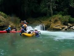 Moho Rapids (Dru!) Tags: belize mohoriver bze ca centralamerica toledo santatheresa mayan jungle river whitewater kayak paddling inflatable