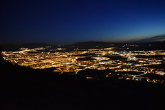 Pamplona de noche. (Juan Carlos Aristu) Tags: