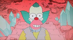 2019 Krusty the Clown meets Marc Maron 1990 (Brechtbug) Tags: theater exterior 2019 krusty clown meets marc maron the simpsons animation movie springfield tv show portraits portrait screen grab screengrab simpson matt groening fox nyc cartoon character yellow figures family television comedy funny doh d oh episode 30th season february 021719 wtf podcast