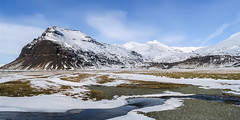 IceLand (Panasonikon) Tags: panasonikon canon powershota75 island iceland landschaft landscape winter schnee snow mountain berg fluss river panorama