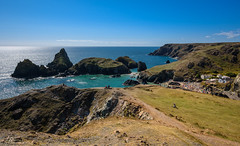 Cornwall, Kynance Cove, (Uwe Kögler) Tags: united kingdom uk cornwall cove sea grosbritannien greatbritain rock bay bucht meer coastpath coast küste südwestengland england sommer summer unitedkingdom nationaltrust