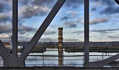 Liverpool Merseyside 21st February 2019 (loose_grip_99) Tags: liverpool merseyside river mersey northwest england uk docks victoria tower bridge water city cityscape abandoned wirral birkenhead clock disused