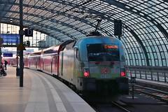 DB Regional Express 182002 - Berlin Hbf (KA Transport Photography) Tags: db regional express 182002 berlin hbf