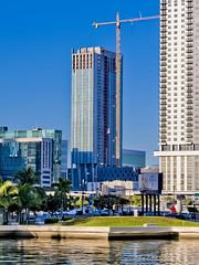 Park-Line Towers South, 600 NW 1st Avenue, Miami, FL, USA / Built: 2019 / Floors: 33 / Height: 375.07 ft / Architects: Nichols Brosch Wurst Wolfe & Associates; Zyscovich, Inc; Skidmore, Owings & Merrill LLP / Interior Designer: Stantec / Style: Modernism (Photographer South Florida) Tags: miami florida usa miamibeach miamigardens northmiamibeach northmiami miamishores cityscape city urban downtown density skyline skyscraper building highrise architecture centralbusinessdistrict miamidadecounty southflorida biscaynebay cosmopolitan metropolis metropolitan metro commercialproperty sunshinestate realestate tallbuilding midtownmiami commercialdistrict commercialoffice wynwoodedgewater residentialcondominium dodgeisland brickellkey southbeach portmiami sobe brickellfinancialdistrict keybiscayne artdeco museumpark brickell historicalsite miamiriver brickellavenuebridge midtown sunnyislesbeach moonovermiami mimo venetiancauseway parklinetowernorth 600nw1stavenue usabuilt2019floors30height34097ftarchitectsnicholsbroschwurstwolfeassociateszyscovich incskidmore owingsmerrillllpinteriordesignerstantec 37507ft parklinetowersouth concrete modernism