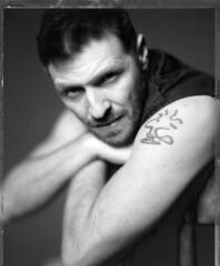 Marko (Braca Nadezdic) Tags: analog blackandwhite bw portrait portraits polaroid polaroid55 55 4x5 negative