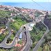 Roads in Funchal. Madeira