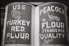 Use Our Flour (iroc409) Tags: minolta xk rokkor 50mm ilford hp5 film 35mm blackandwhite bw flour industrial lehirollermills lehi