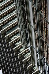 (jfre81) Tags: houston architecture stack abstract lines geometry exxon chevron enron building diagonal vertical urban city texas tx tex 713 htown htx james fremont photography canon rebel xs eos
