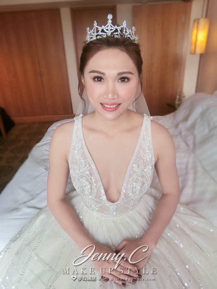【新秘蓁妮】bride佩雰 結婚造型 / 非常棧婚宴會館