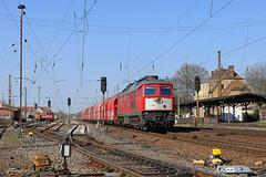232 241-0 DB Cargo (Zugbild) Tags: bahn zug eisenbahn train rail railway ludmilla russe grosrusse br232 br132 leipzigwiederitzsch sachsen hellblau verkehrsrot gipszug