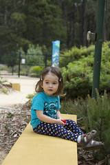 (louisa_catlover) Tags: portrait family child toddler daughter tabitha tabby outdoor nature park garden dandenongs karwarra