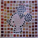 ''The Study of Mickey'' by Sherrill S, mosaic, $25.00