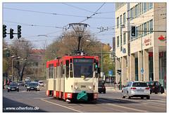 Tram Frankfurt (O) - 2019-06 (olherfoto) Tags: bahn tram tramcar tramway villamos strasenbahn frankfurtoder tatra tatratram kt4d