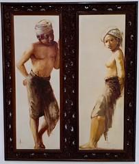 MUTUAL ATTRACTION (GeckoZen) Tags: ubud bali indonesia peinture abdulaziz nekta art museum