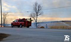 2/2 Grass Fire in Iowa Falls, IA 12-24-18 1555hrs (KansasScanner) Tags: iowafalls iowa up csx fire fd train railroad