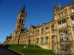 University of Glasgow (Wider World) Tags: scotland glasgow westend university georgegilbertscott tower spire steeple neogothic