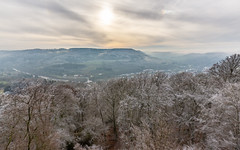 Blick übers Sauertal (Jean-Marie Will) Tags: bollendorf sauer sauertal grenze luxemburg rheinlandpfalz südeifel naturpark reif winter nebel hochnebel wolken hdr bollendorfpont eifel