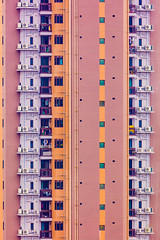 The Block Tower - Sherbet AC - Fine Art Print (tobyharriman) Tags: 2018 hongkong abstract aerial apartments blocktower china complex drone estates highrise homes housing kowloon living photography population publichousing rental residences skyscraper towers