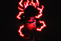 Faster than Lightning! Hotter than Hell! (Andrew Cookston) Tags: lego dc comics theflash red death flash ugminifigures andrew cookston andrewcookston