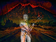 Road Closed (Rusty Russ) Tags: rework red satan pitch fork mountain road fire colorful day digital window flickr country bright happy colour eos scenic america world sunset beach water sky nature blue white tree green art light sun cloud park landscape summer city yellow people old new photoshop google bing yahoo stumbleupon getty national geographic creative composite manipulation hue pinterest blog twitter comons wiki pixel artistic topaz filter on1 sunshine image reddit tinder russ seidel facebook