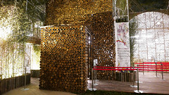 2018 Taichung World Flora Exposition - 23 (葉 正道 Ben(busy)) Tags: 2018年臺中世界花卉博覽會 2018taichungworldfloraexposition 台中 台灣 博覽會 taichung taiwan flora exposition 風景 landscape 建築 后里區 houlidistrict 夜 night bamboo 竹子