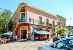 La Boca-2971 (kasiahalka) Tags: argentina art barrio boca buenosaires buildings church city color colorfull laboca labocaneighborhood southamerica statue street tango