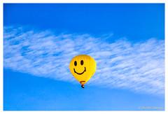 Smiling balloon (cstevens2) Tags: aircraft antwerp antwerpen antwerpenprov anvers balloon belgique belgium belgië eilandje europe flanders flandre goldenhour linkeroever morning ochtend transportation vlaanderen clouds goudenuurtje lucht luchtballon morninglight ochtendlicht sky smiley wolk