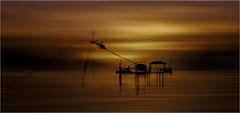 levante sunset , motion blur (Andre Van de Sande) Tags: beach sunset spain benidorm motion blur