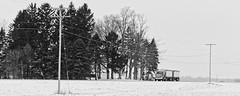 Truck (joeldinda) Tags: roxana roxandtownship fields tree snow weather eatoncounty michigan omd em1ii 4458 truck em1 february omdem1mkii olympus 2019 winter 42365