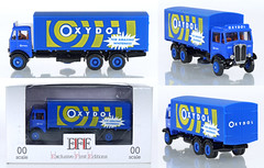 EFE-10505-AEC-Oxydol (adrianz toyz) Tags: efe truck lorry 176 scale oo diecast model toy aec mammoth van box oxydol 6wheel 10505